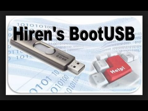 Repara tu PC o Laptop - Montar Hiren's Boot CD en un USB con Autoarranque