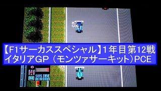 第12戦は高速サーキットのモンツァサーキット。マシン的に苦しいかも...