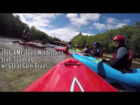 AMC Teen Wilderness Kayak Training w/ Great Glen Trails - Wet Exits