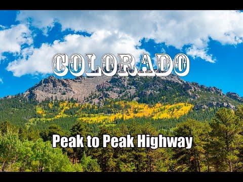 Driving Colorado Peak To Peak Highway ( Nederland to Estes Park )