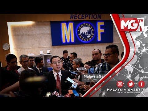 """TERKINI : """"Lembaga 1MDB Akui Syarikat Tak Mampu Bayar Hutang"""" - Guan Eng"""