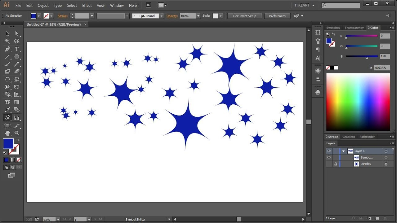 How To Create And Save A Custom Made Symbol In Adobe Illustrator