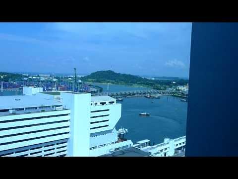 singapore port view
