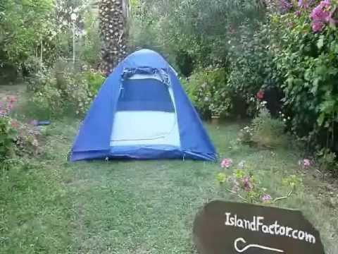 how to set up a camping tent youtube. Black Bedroom Furniture Sets. Home Design Ideas