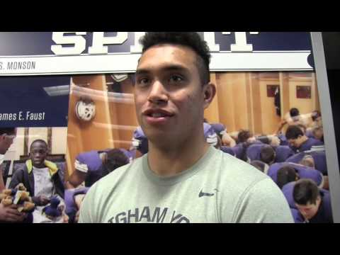 Two minutes with Moroni Laulu-Pututau, BYU wide receiver