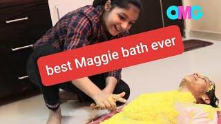 SPICY MAGGI CHALLENGE WITH A TWIST OF MAGGI BATH | TEEN DROLLS