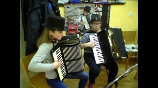 The Godfather waltz or The Godfather theme by Nino Rota (accordion orchestra cover)