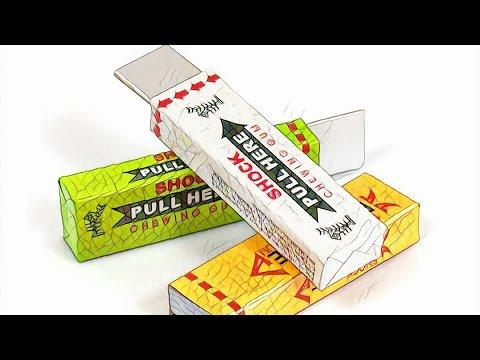 Жвачки из детства Spearmint Doublemint и Juicy Fruit