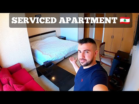 WHERE TO STAY IN BEIRUT Apartment Tour In Downtown Beirut Lebanon