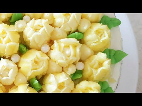 ТЮЛЬПАНЫ ИЗ КРЕМА🌷 УПРОЩЕННЫЙ крем для цветов на базе ШАНТИФЛЕКС 🌷 Chantyflex Tulips Flowers
