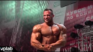 Алексей Кузнецов - чемпион Кубка России по бодибилдингу - 2018 в категории свыше 100 кг