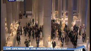 ACROPOLIS: The opening of the new museum