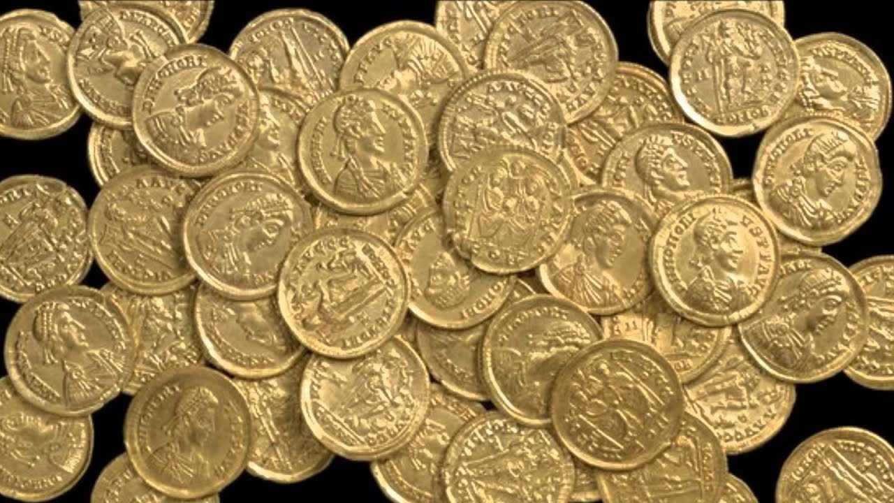 A New Hoard Of Roman Gold Coins Found In St Albans