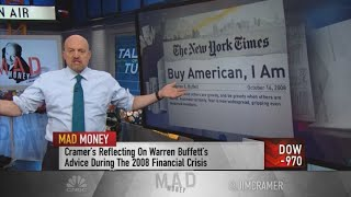 Jim Cramer channels Warren Buffett in a volatile market: 'Be greedy when others are fearful