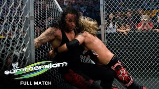 FULL MATCH - Undertaker vs. Edge - Hell in a Cell Match: SummerSlam 2008
