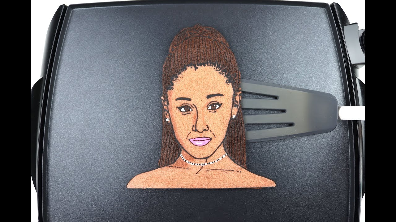 Ariana Grande Pancake -Pan The Art-
