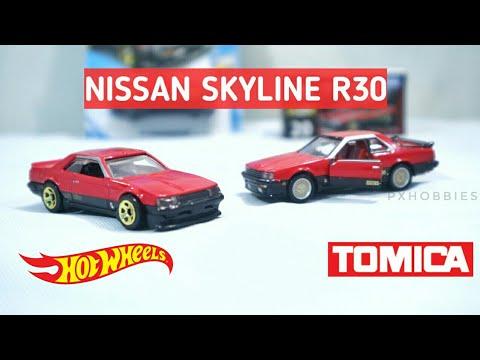 Bagus Mana Hotwheels Vs Tomica Nissan Skyline R30 Nissan
