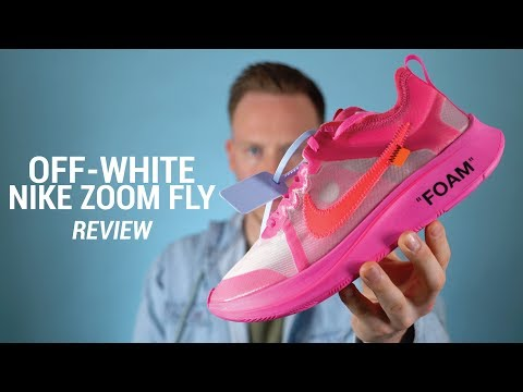 OFF WHITE Nike Zoom Fly Tulip Pink Review & On Feet
