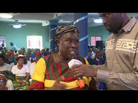 THE ELDERS BLESSED PROPHET JEREMIAH AS HE DANCE TO GOD 3B(( MIRACLE ALERT PROGRAM DAY 2