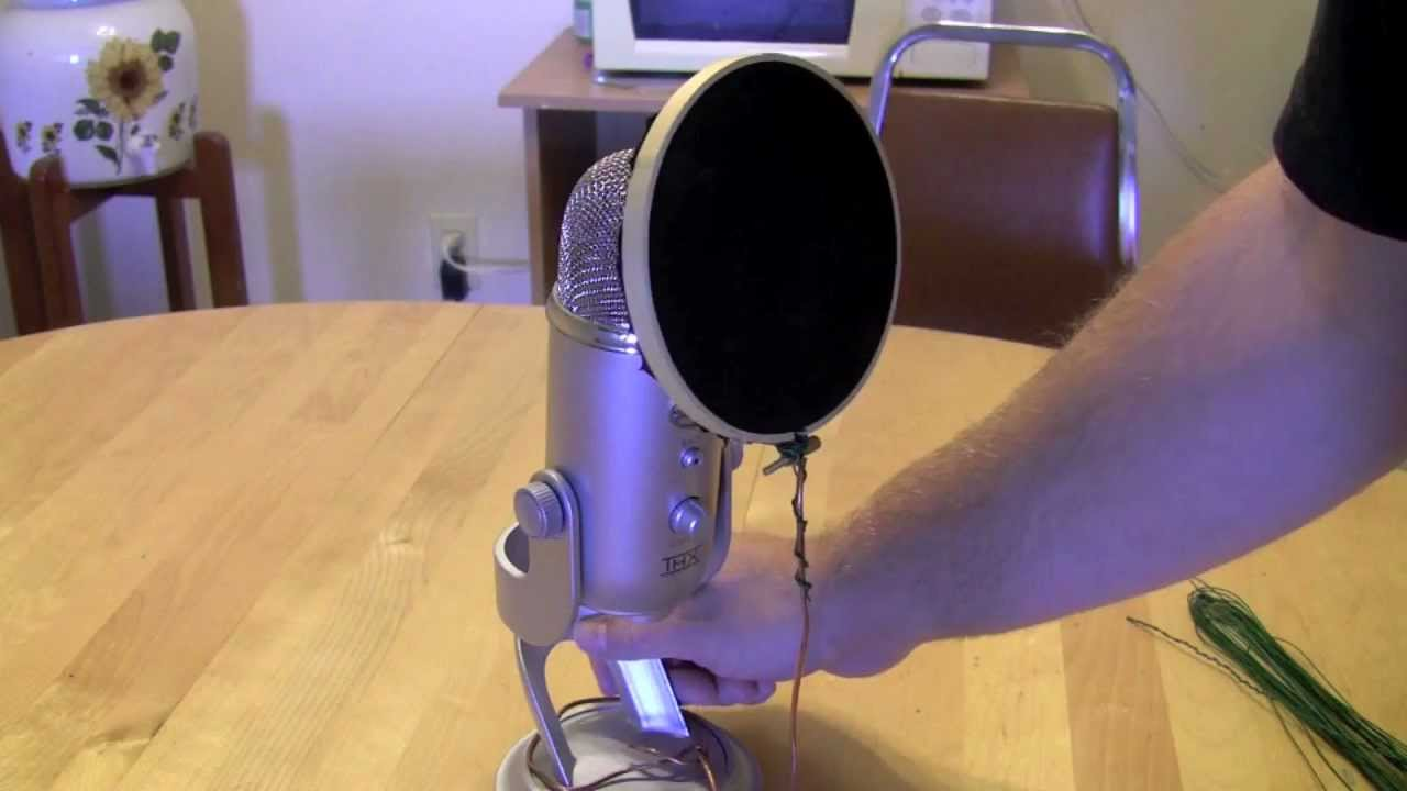 Kia Rio 5 >> How-to make a Pop filter under $5(EASY) - YouTube
