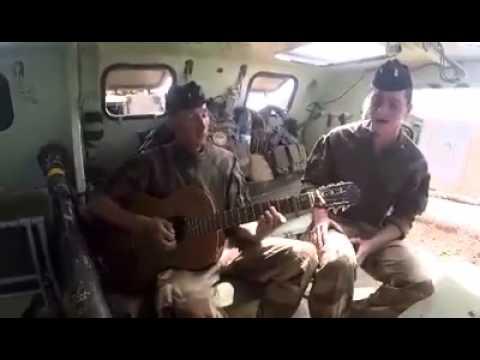 Musique d'un militaire francais au mali !