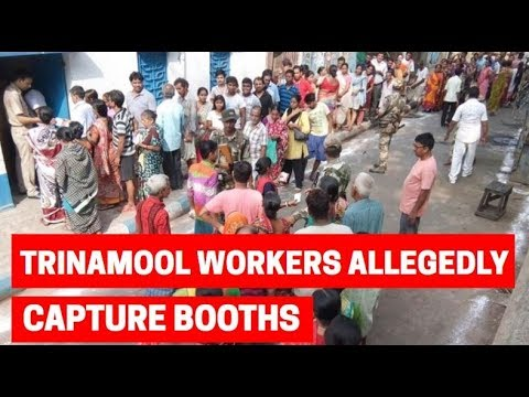 Lok Sabha election 2019: Trinamool workers allegedly capture booths