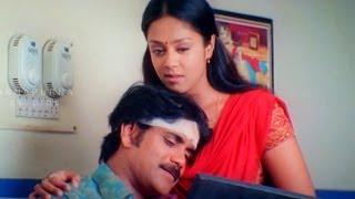 Jyothika Proposing Nagarjuna Love Scene || Nagarjuna, Jyothika