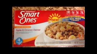 Weight Watchers Smart Ones Oatmeal Review