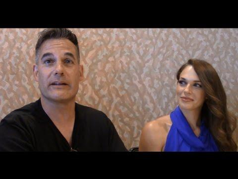 Colony - Adrian Pasdar, Amanda Righetti Interview, Season 2 (Comic Con)
