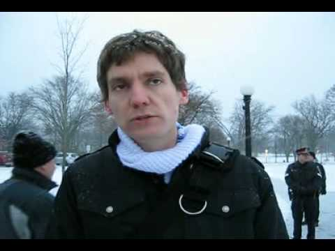 David Eby BC Civil Liberties Association discusses Vancouver 2010 Olympics with Common Cause