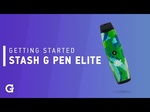 Getting Started with the Stash G Pen Elite
