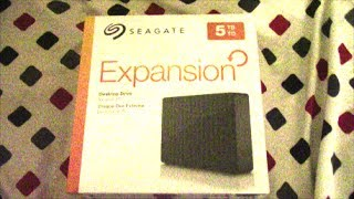 Seagate Expansion External Hard Drive 5 TB USB 3.0