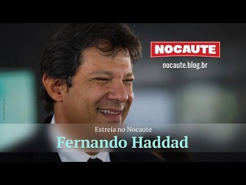 HADDAD ESTREIA NO NOCAUTE E FALA DO CERCO À DEMOCRACIA