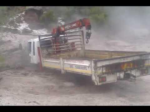 Lesotho Quthing flood