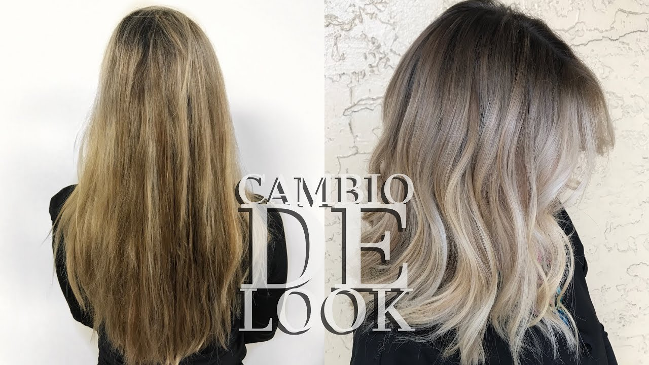 Cambio De Look Balayage Baby Lights Blended Root Y