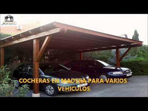 Pergolas y porches de madera youtube - Pergolas de madera para coches ...