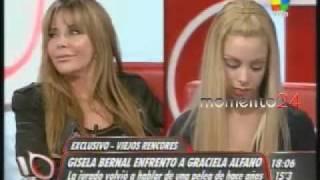 Alfano hace llorar a Gisela Bernal