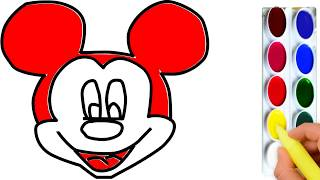 How to Draw Mickey Mouse | How to Draw Mickey Mouse Step by Step, Easy