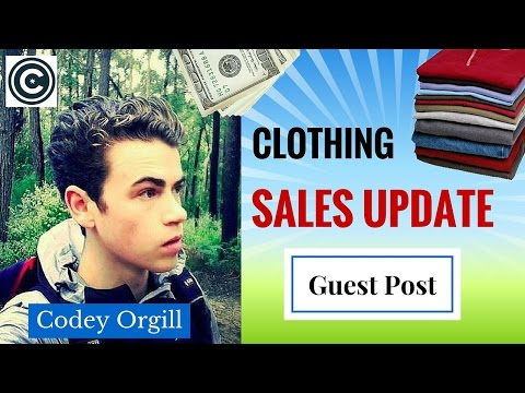Reselling In Australia | Clothing Sales Update | Guest Post By Codey Orgill
