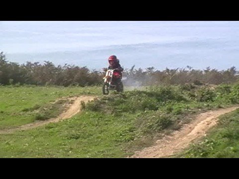 kids moto x Joshua starting out age 5yrs
