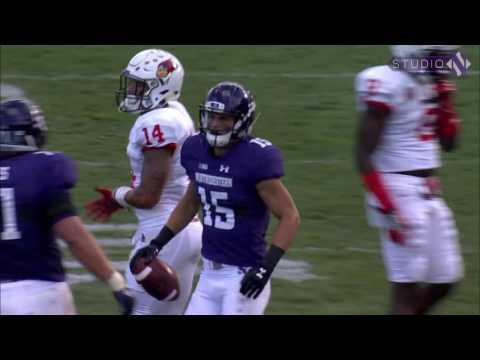 NU Football - Illinois State Game Highlights (9-10-16)
