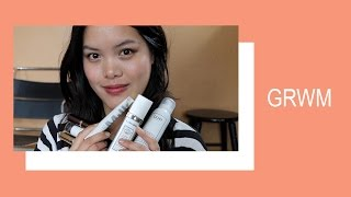 GRWM ft  Lancome, Hourglass, Glossier, Milk, and more!