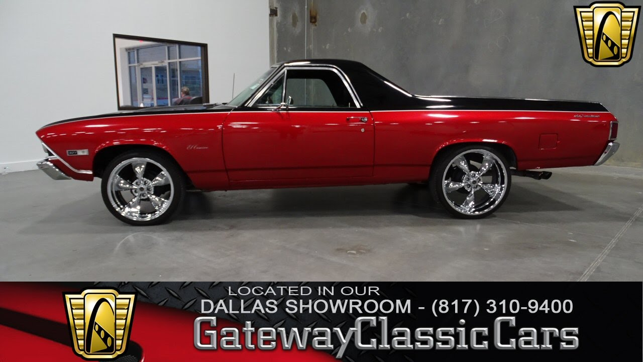 1968 Chevrolet El Camino Stock #29 Gateway Classic Cars Dallas ...