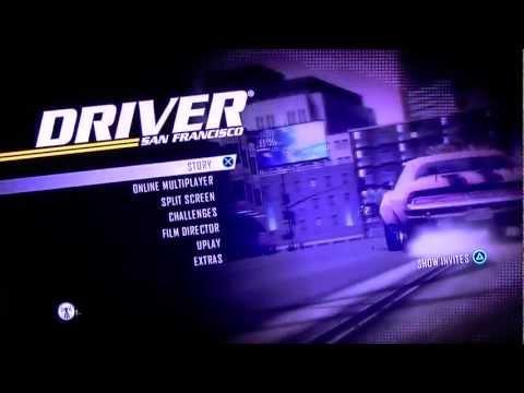 Driver San Francisco Main Menu. HD