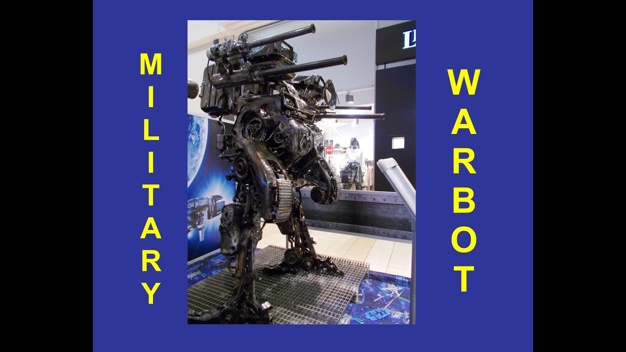 Heavy Military War Robot - YouTube