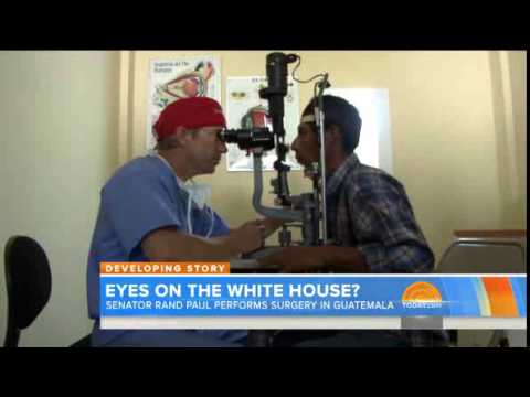 NBC Today Show on possible Rand Paul 2016 run 8/25/14