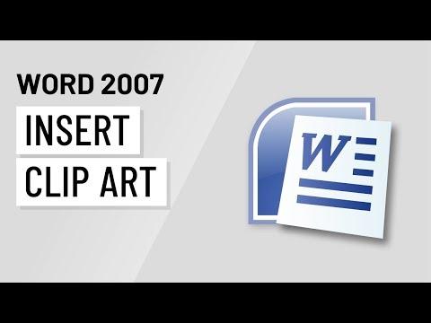 Word 2007: Inserting Clip Art