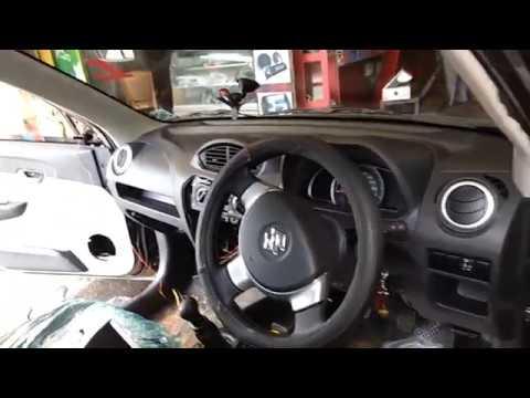 Maruti Suzuki alto 800 pioneer stereo and speakers installation(JBL and Blaupunkt speakers)