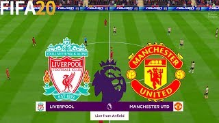 FIFA 20 | Liverpool vs Manchester United - Premier League - Full Match & Gameplay