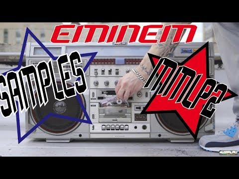 EMINEM  MARSHALL MATHERS LP 2 SAMPLES USED AND TRACKS COPIED ON ALBUM